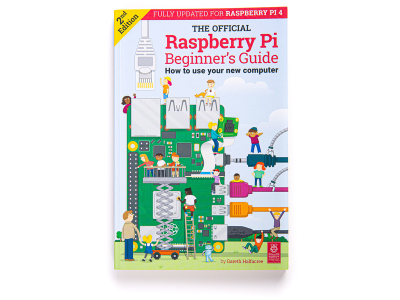 Buy a Raspberry Pi Official Beginner's Guide - 2nd Edition – Raspberry Pi